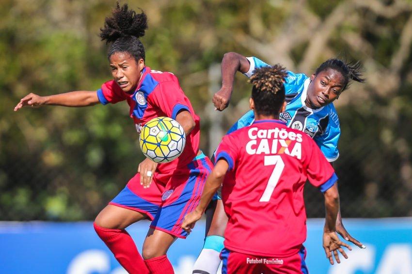 b13d404c11 O Esporte Clube Bahia pode acertar uma parceria com o time feminino do São  Francisco