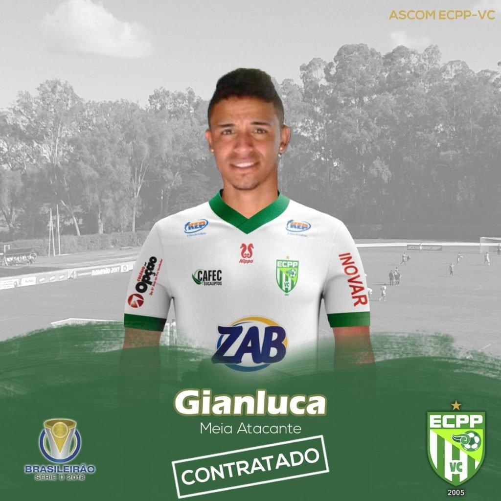 53825210a9 O Vitória da Conquista anunciou mais uma contratação para a sequência da  Série D do Brasileirão. Quem chega ao clube é o meia Gianlucas.