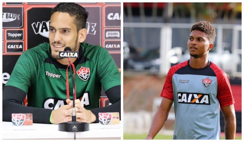 As boas atuações de Ronaldo e Lucas Ribeiro renderam aos atletas a renovação  de contrato com o Vitória. O goleiro 8950544962243