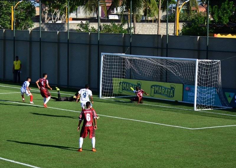 01b996c4e19b7 O Bahia de Feira estreou no CAmpeonato Baiano com triunfo. O Tremendão  bateu o Jacuipense por 2 a 1