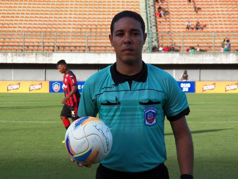 Resultado de imagem para Emerson Ricardo de Almeida Andrade, da Federação Bahiana de Futebol