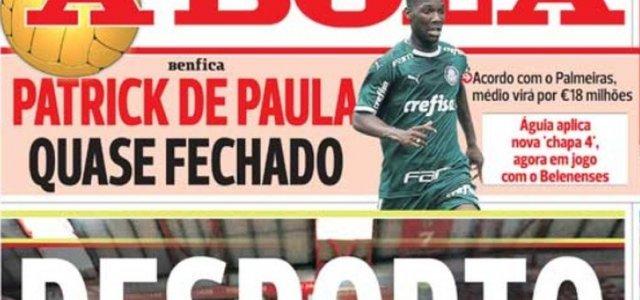 Com Proposta Milionaria Joia Do Palmeiras Esta Perto De Acerto Com O Benfica Diz Jornal Noticias Galaticos Online